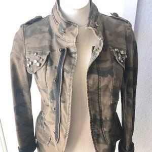 Zara fatigue jacket size xs